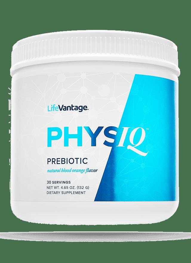 Tub of PhysIQ Prebiotic
