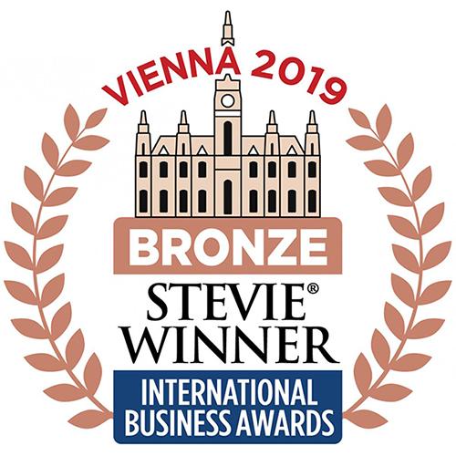 Bronze Stevie Award logo