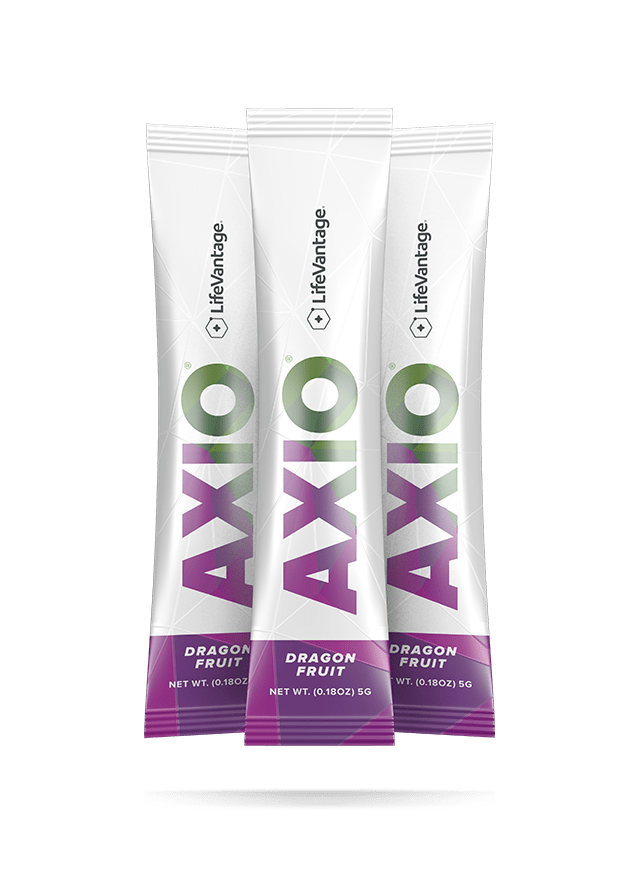 Packets of AXIO Dragon Fruit
