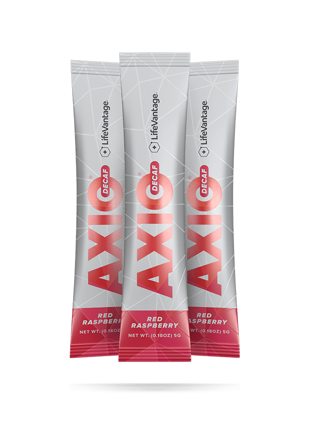 Packets of AXIO decaf