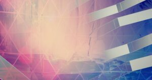 Pink and Blue Abstract Design