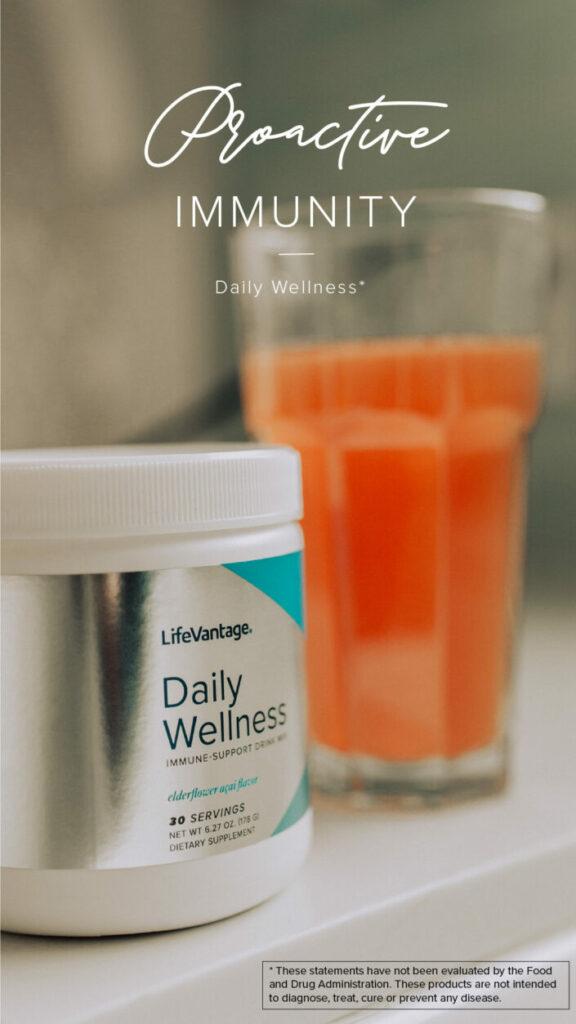 Daily Wellness social asset