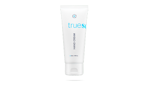 bottle of truescience hand cream