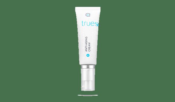 Bottle of TrueScience Anti Aging Cream
