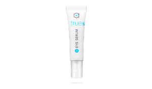 tube of eye serum for the product wall