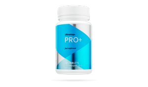 bottle of pro plus for the product wall