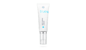 Bottle of TrueScience Anti-Aging Cream