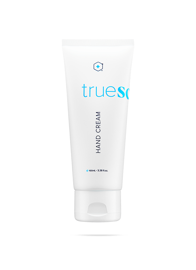 bottle of true science hand cream