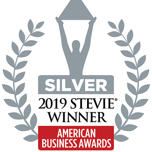 2019 Silver Stevie Award winner