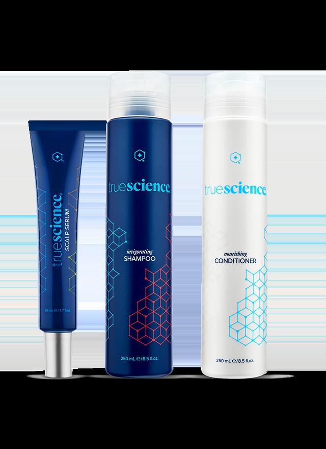 Hair Care System bottles