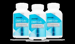 3 Omega+ bottles