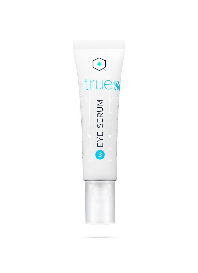 Bottle of Truescience Eye Serum