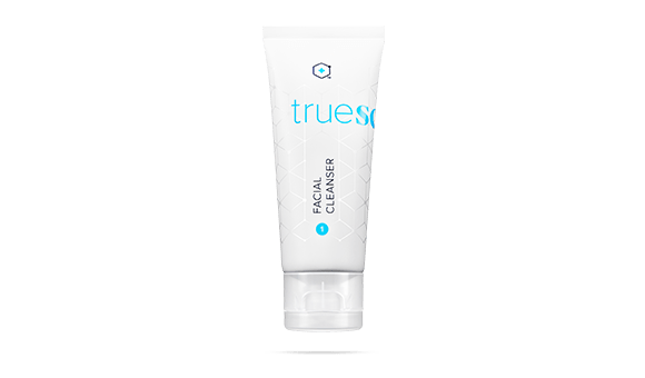 Tube of TrueScience Facial Cleanser