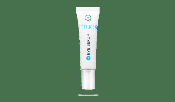 Bottle of TrueScience Eye Serum