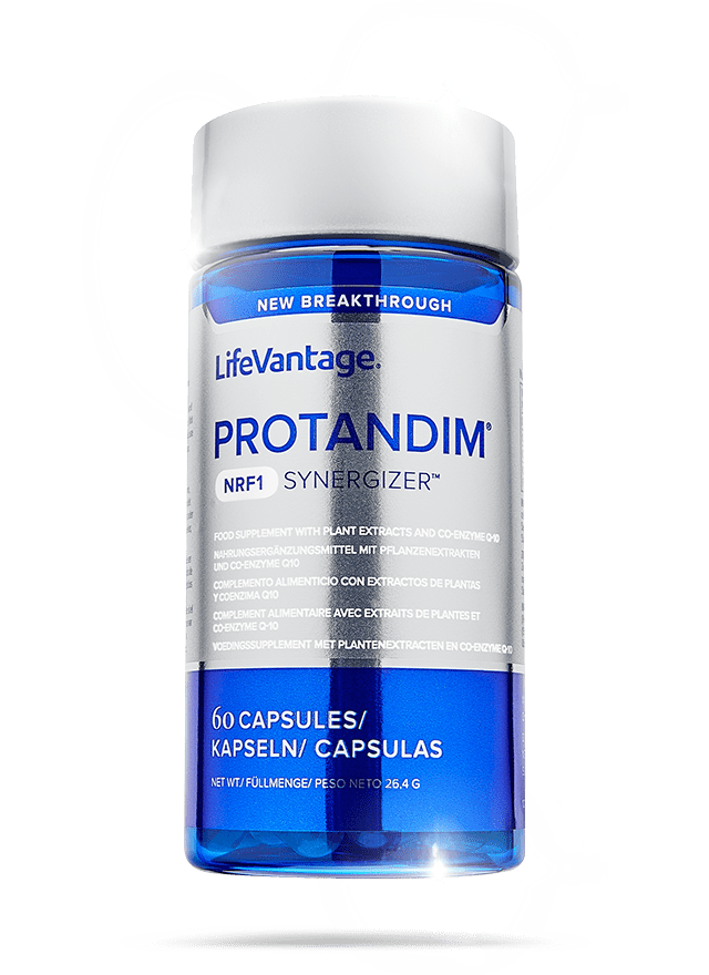 Bottle of Protandim NRF1