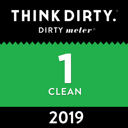 Think Dirty number 1 clean 2019 award