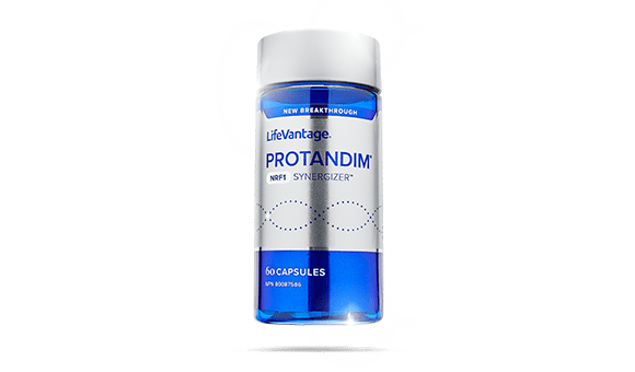 bottle of nrf1 for product wall