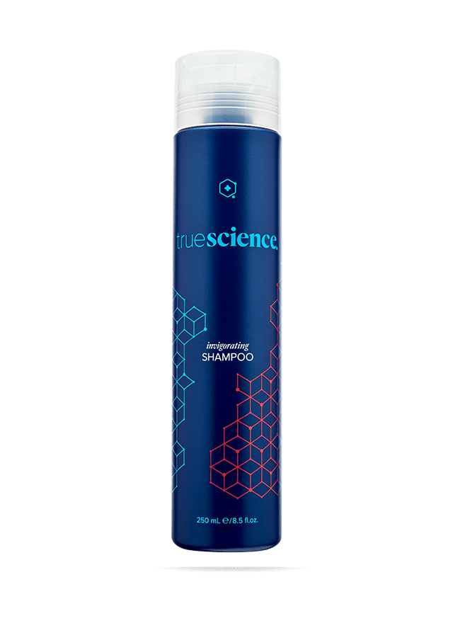 Bottle of TrueScience Nourishing Shampoo