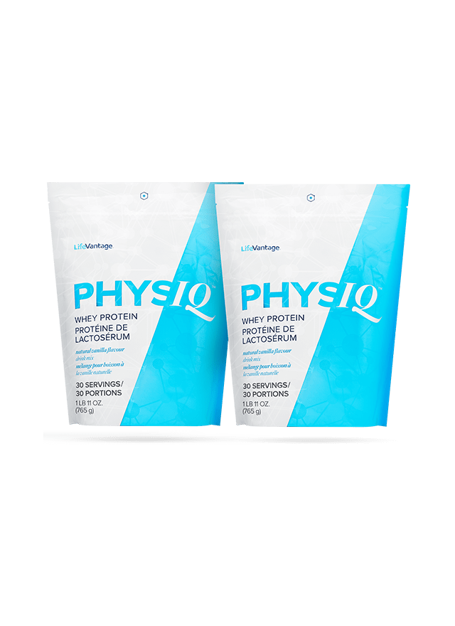 2 Physiq Protein Bags