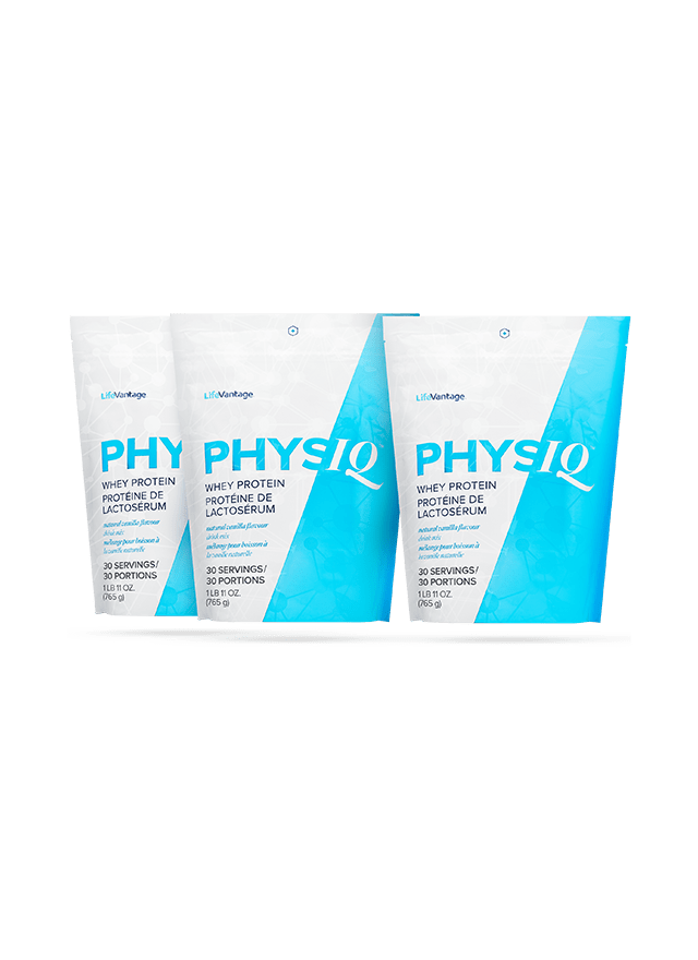 3 Physiq Protein Bags