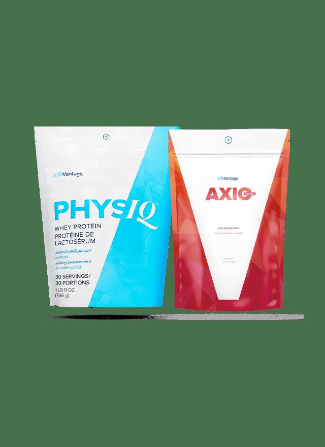 PhysiQ Protein Bag and AXIO bag