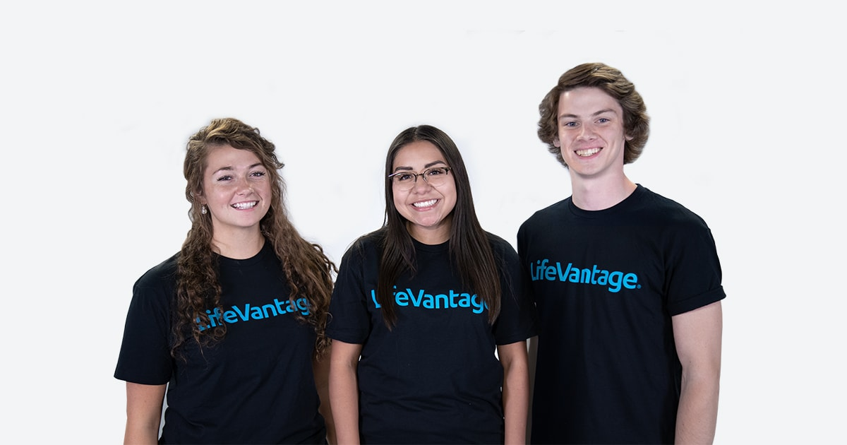 Three LifeVantage Employees.