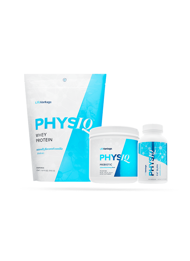 bottles of physiq system