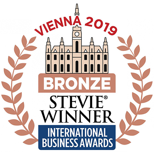 Stevie Bronze award logo